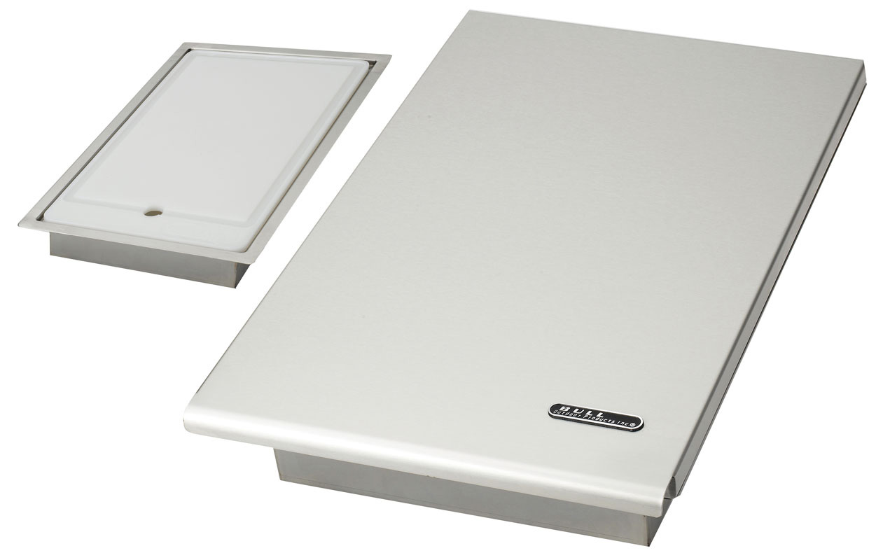 Cutting Board Stainless Steel Drop-In Section