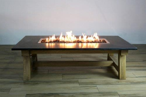 Work Shop Coffee Table Firepit